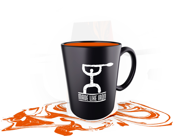 Made Like Iron Coffee Mug