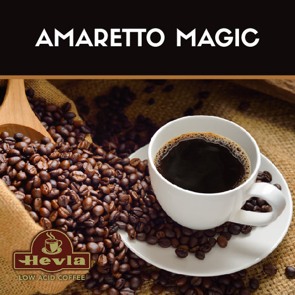 Hevla Amaretto Magic Low Acid Coffee