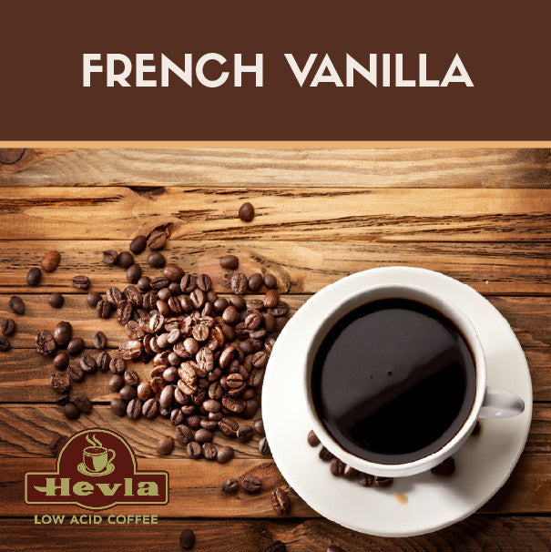 Hevla French Vanilla Low Acid Coffee