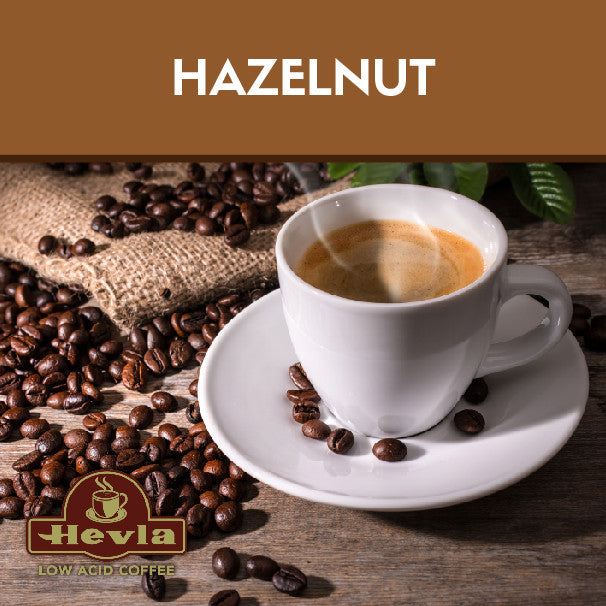 Hevla Hazelnut Low Acid Coffee