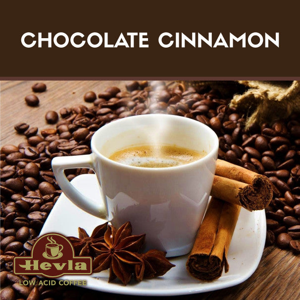 Hevla Chocolate Cinnamon Low Acid Coffee
