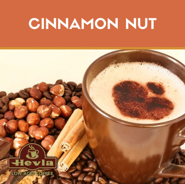 Hevla Cinnamon Nut Low Acid Coffee