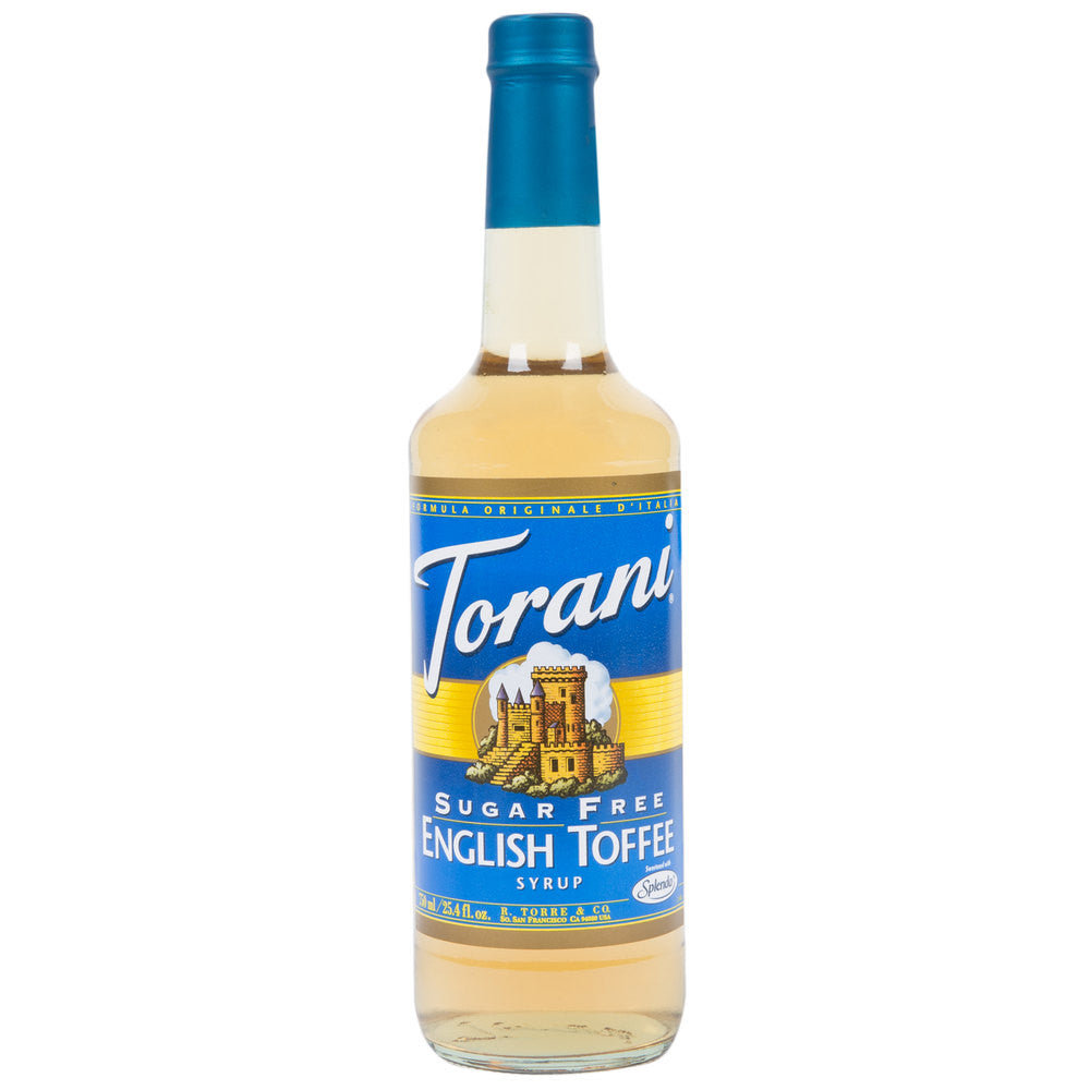 Torani English Toffee Sugar Free Syrup