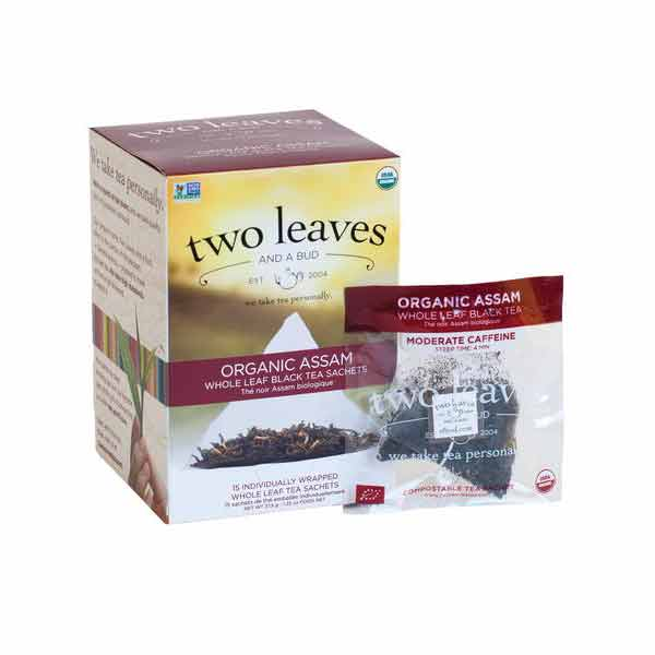 Two Leaves and a Bud Organic Assam Tea