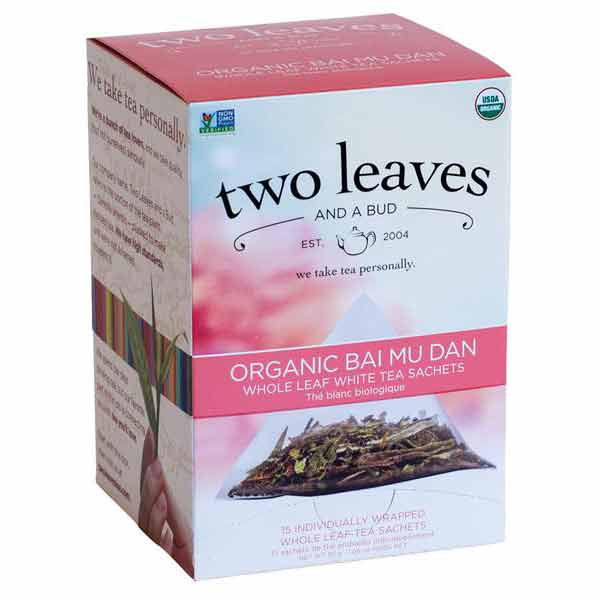 Two Leaves and a Bud Organic White Peony Tea