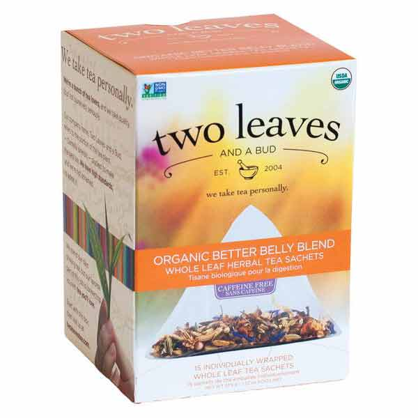 Two Leaves and a Bud Organic Better Belly Blend Tea