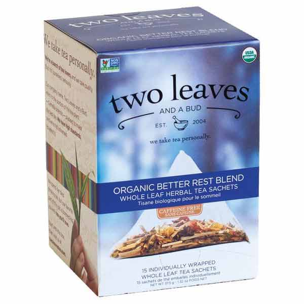 Two Leaves and a Bud Organic Better Rest Blend Tea