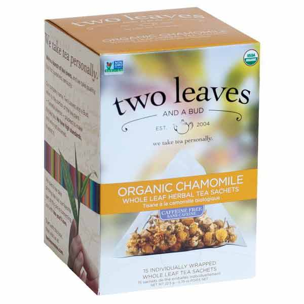 Two Leaves and a Bud Organic Chamomile Tea