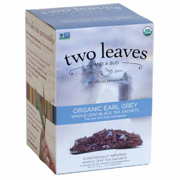 Two Leaves and a Bud Organic Earl Grey Tea