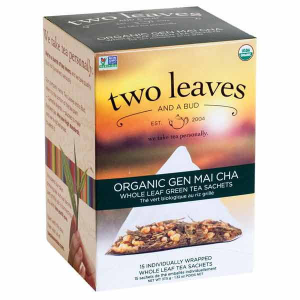 Two Leaves and a Bud Organic Gen Mai Cha Green Tea