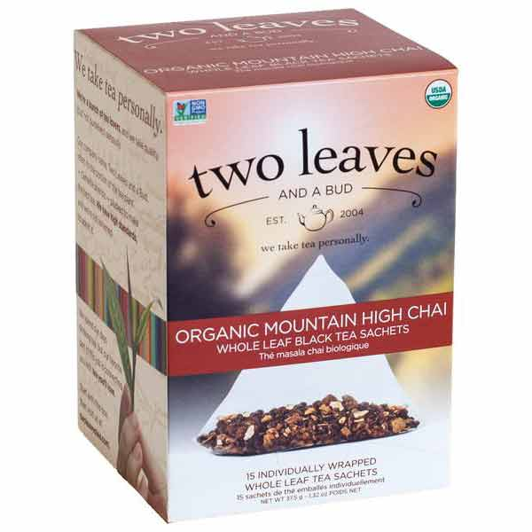 Two Leaves and a Bud Organic Mountain High Chai Tea