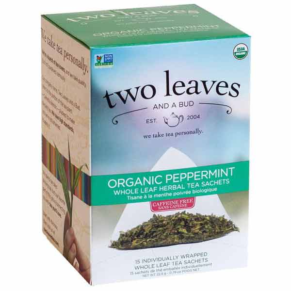 Two Leaves and a Bud Organic Peppermint Tea