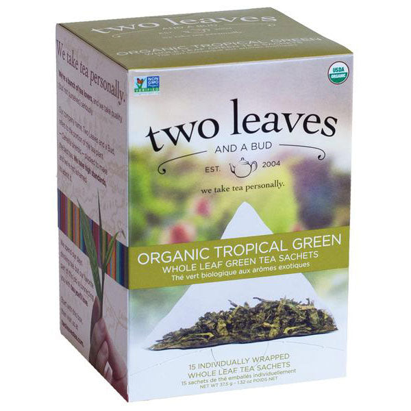 Two Leaves and Bud Leaves Organic Tropical Goji Green Tea
