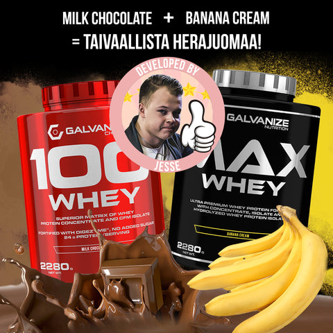 100 WHEY COMBO 4,56kg