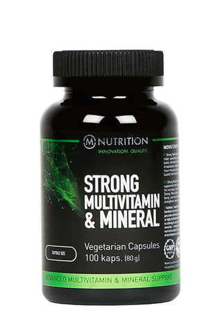 M-Nutrition Strong Multivitamin & Mineral 100kaps.