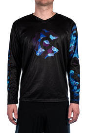 Digital Camo Men's MTB Jersey L/S