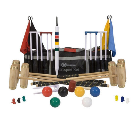 6 Player Executive Croquet Set