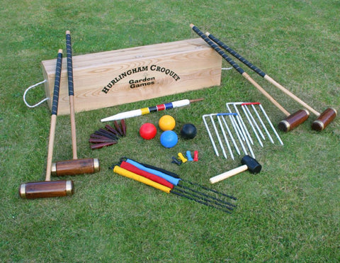 Hurlingham Croquet Set