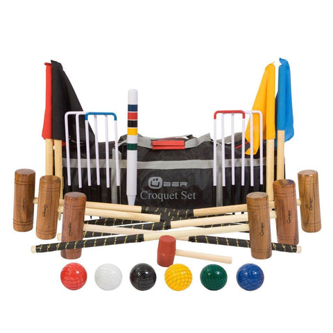 6 Player Garden Croquet Set