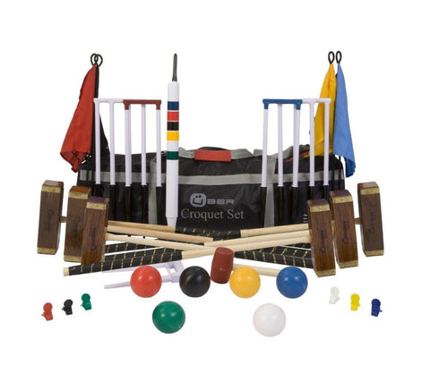 6 Player Championship Croquet Set
