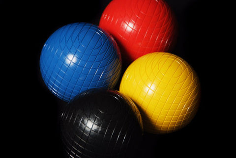 12oz Composite Croquet Balls 1st colours