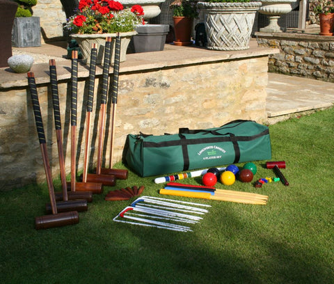 6 Player Longworth Croquet Set