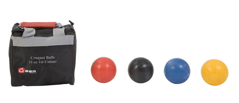 16oz Composite Croquet Balls 1st colours