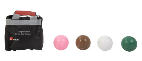 16oz Composite Croquet Balls 2nd colours
