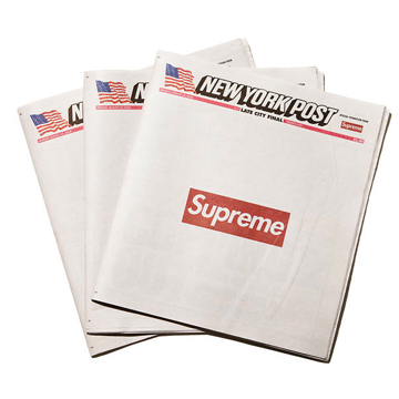 Supreme x New York Post Newspaper (Individual), Supreme, Kenshi Toronto