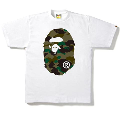 1st Camo Big Ape Head Tee White/Green, Bape, Kenshi Toronto