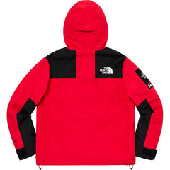 Supreme x The North Face Arc Logo Mountain Parka Red