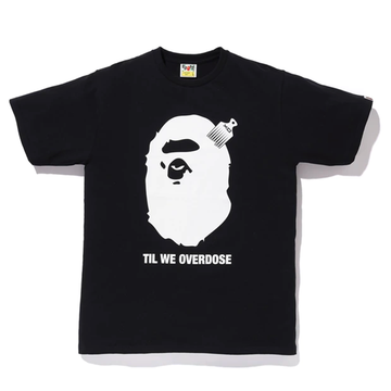 Bape x XO Ape Head Tee Black