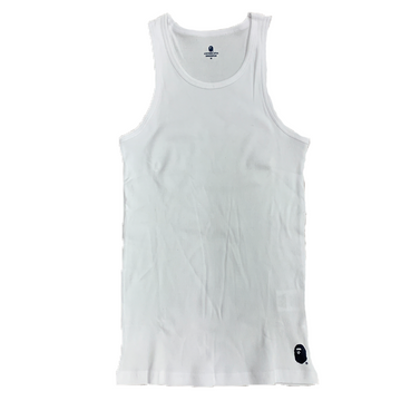 A Bathing Ape Tank Top White