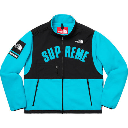 Supreme x The North Face Arc Logo Denali Fleece Jacket Teal