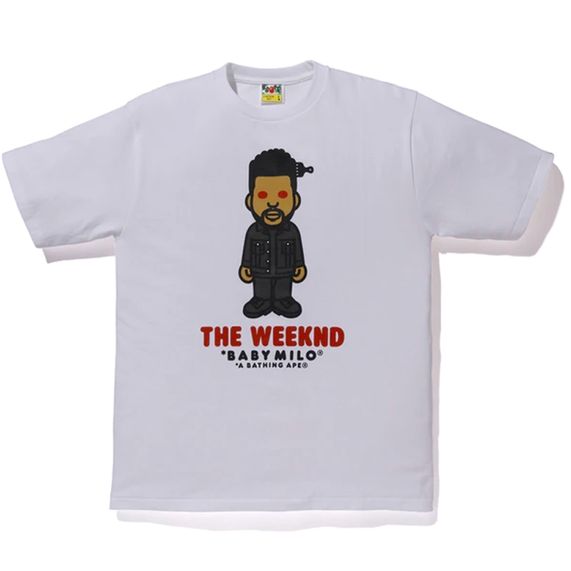 BAPE x XO The Weeknd Tee White