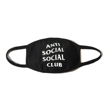 Anti Social Social Club Logo Mask Black