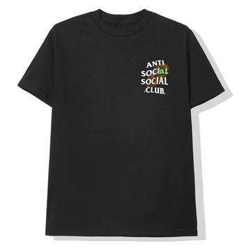 Anti Social Social Club Birdbath Tee Black