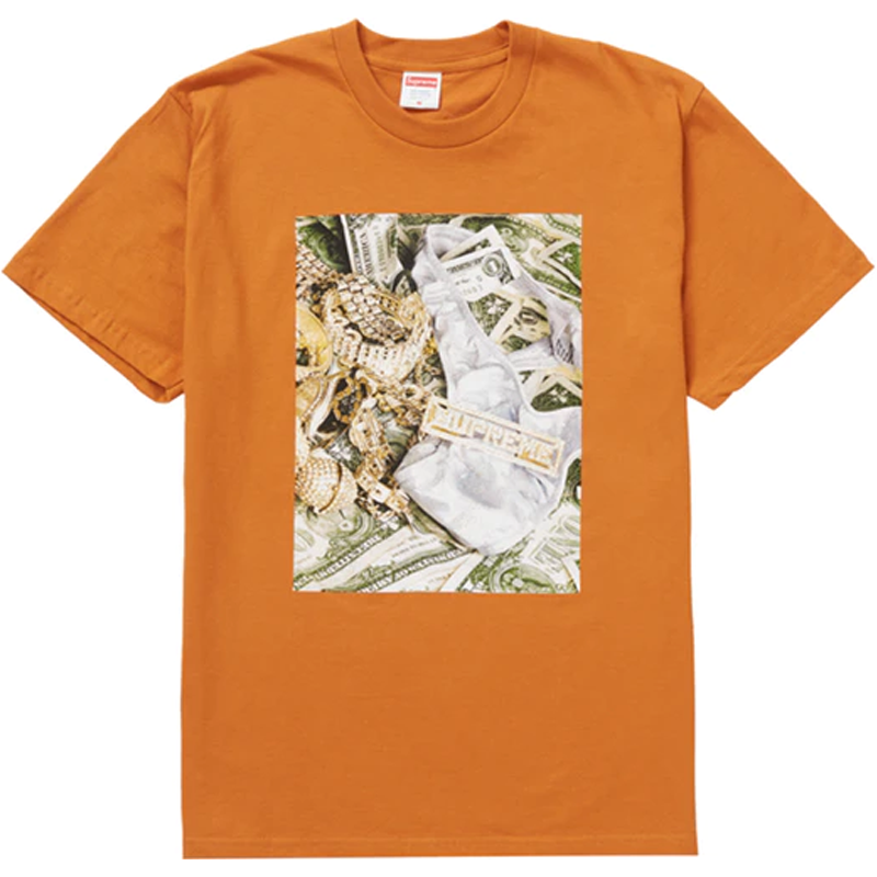 Supreme Bling Tee Burnt Orange