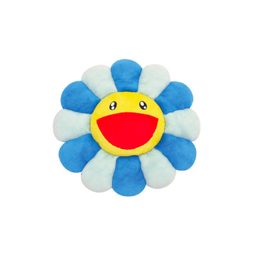 Murakami Flower Pillow Blue/White (30cm)
