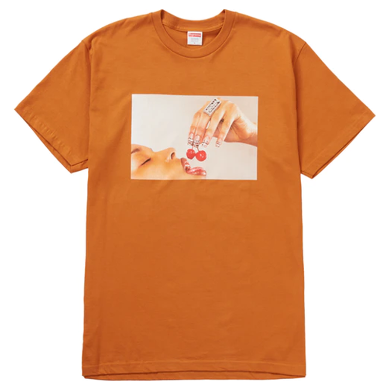 Supreme Cherries Tee Burnt Orange