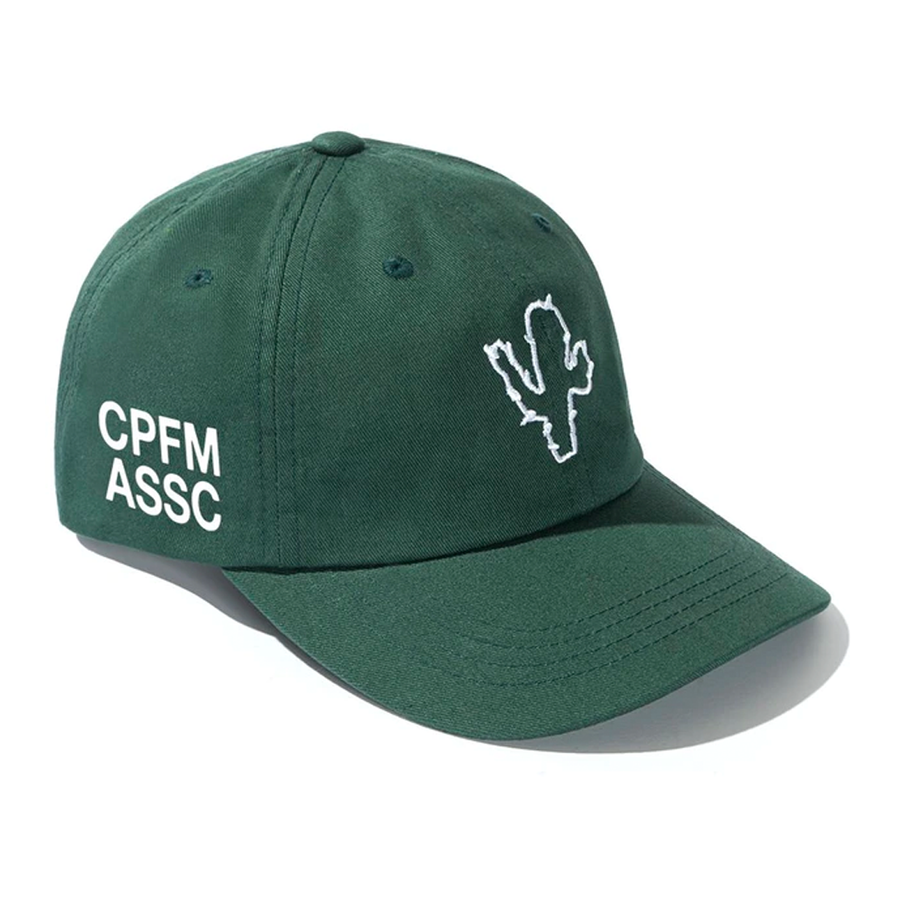 Anti Social Social Club x CPFM Cap Green