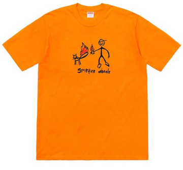 Spitfire Cat Tee Bright Orange, Supreme, Kenshi Toronto