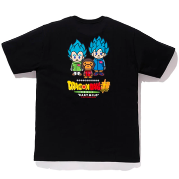 BAPE x Dragonball Super Son Goku & Vegeta Tee Black