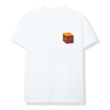 Anti Social Social Club I Wish I Was Wrong Tee White