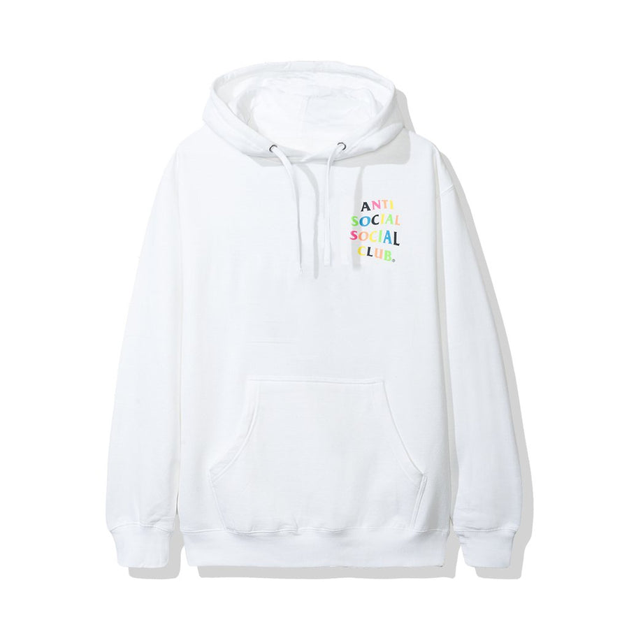 Anti Social Social Club Frantic Hoodie White