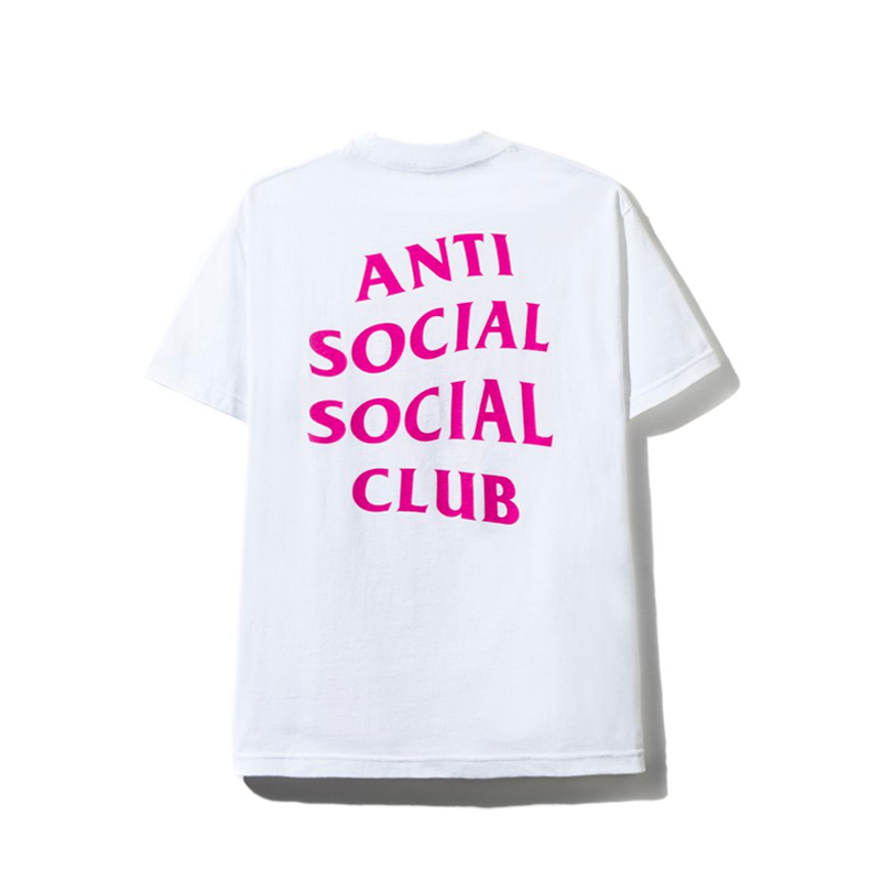 Anti Social Social Club x Champion Homeroom Light Steel Tee White, Anti Social Social Club, Kenshi Toronto