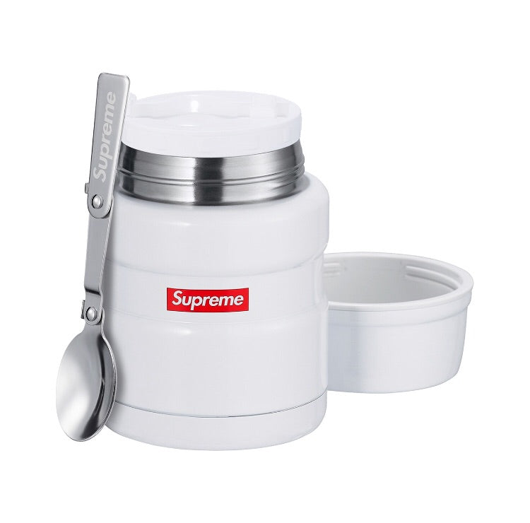Supreme Thermos Stainless King Food Jar and Spoon White, Supreme, Kenshi Toronto