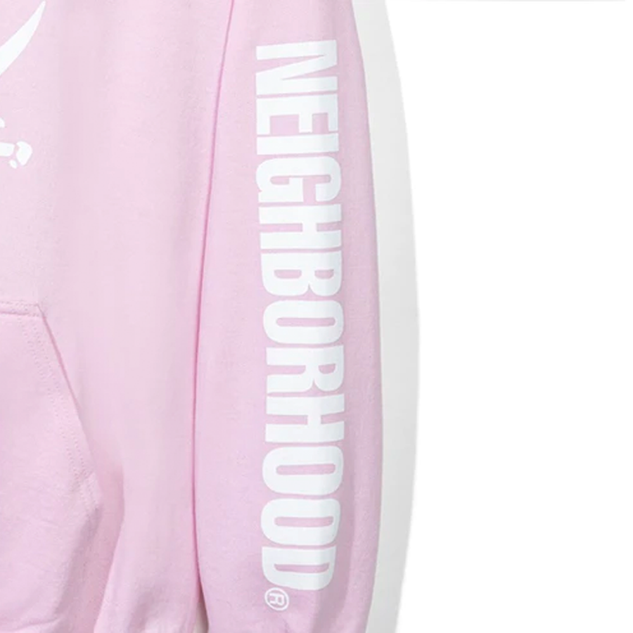 Anti Social Social Club x Neighborhood 6IX Pink Hoodie Hoodie Pink