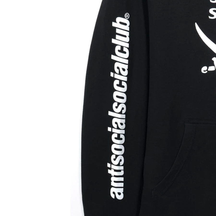Anti Social Social Club x Neighborhood 6IX Black Hoodie Hoodie Black