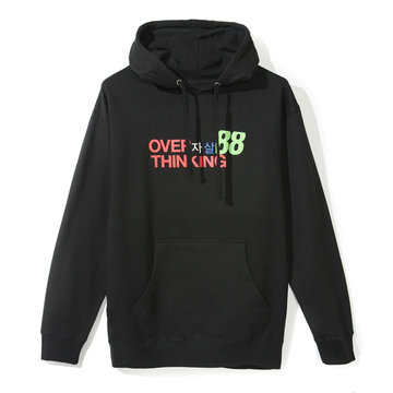 ASSC Over Thinking Hoodie Black